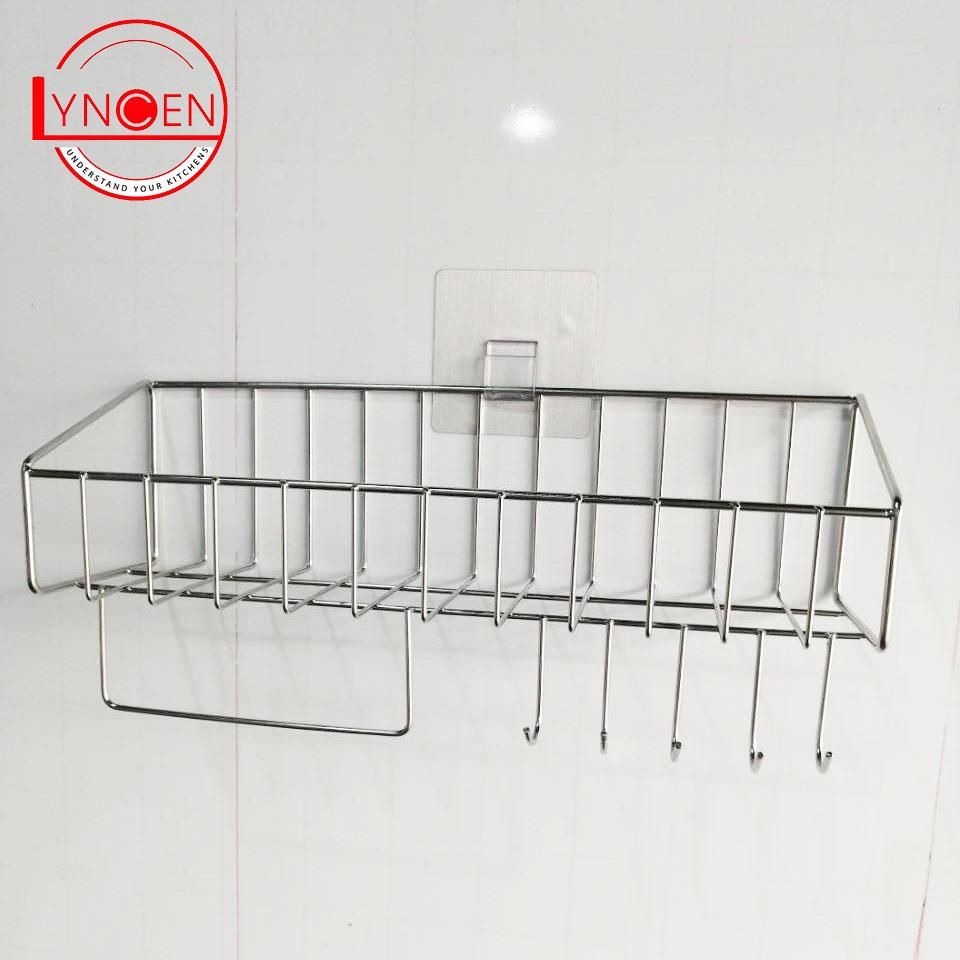 Kệ để đồ đa năng dính tường Inox 304 Lyncen chính hãng hàng Việt Nam xuất Nhật