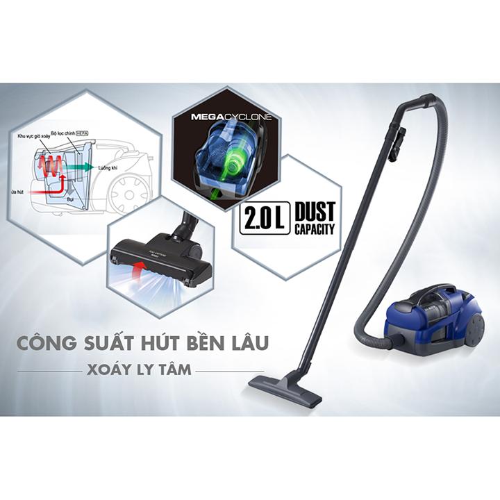 Máy hút bụi không túi Panasonic Megacyclone Malaysia 1600W MC-CG561AN46