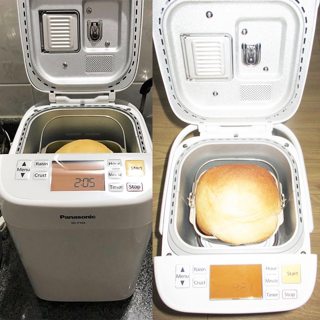 Máy làm bánh mì tự động Panasonic SD-P104WRA