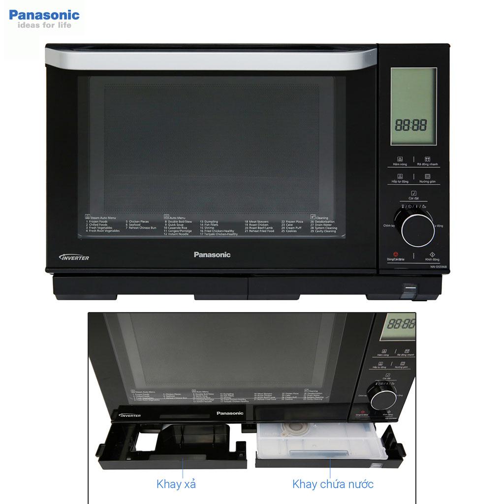 Lò hấp nướng đối lưu có vi sóng đa năng 27 lít Panasonic PALM-NN-DS596BYUE 1200W