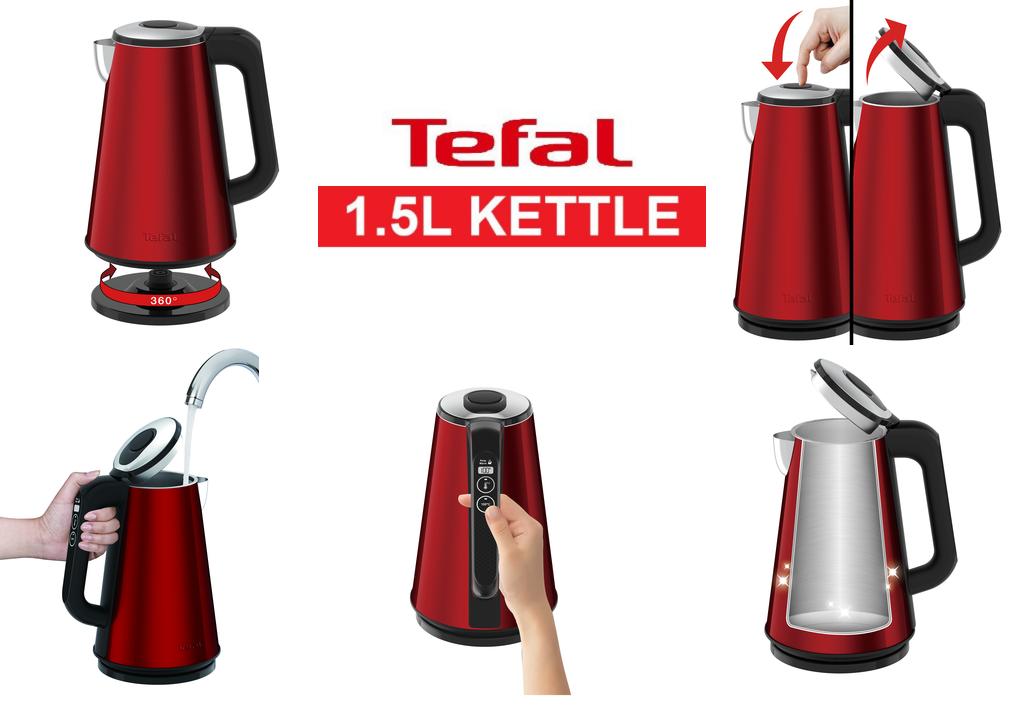Bình đun nước siêu tốc 1500ml Tefal KI820565