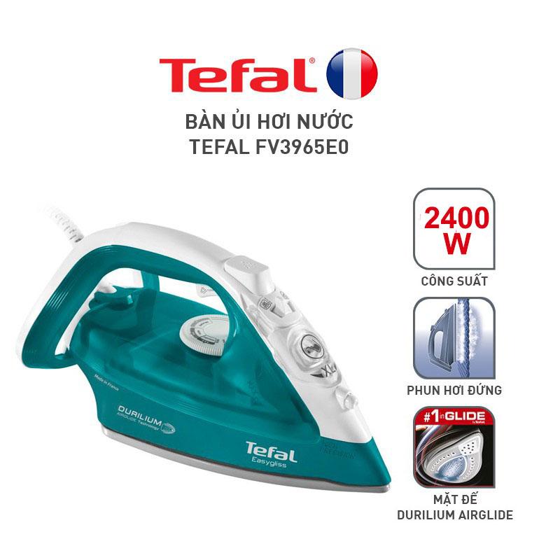 Bàn ủi hơi nước Tefal FV3965 công suất 2400W - Hàng chính hãng, bảo hành 24 tháng