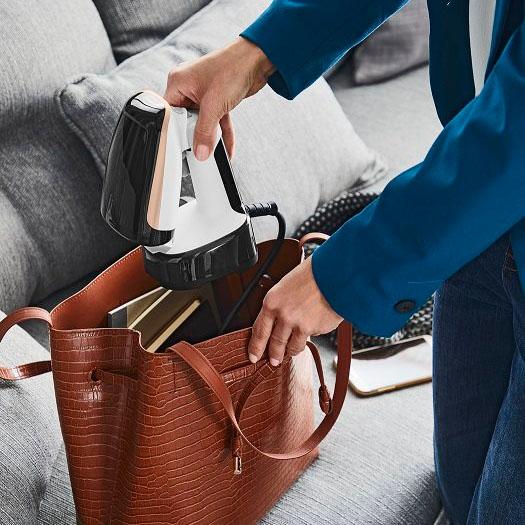 Bàn ủi cầm tay gấp gọn Tefal DT3030E0 công xuất 1300W