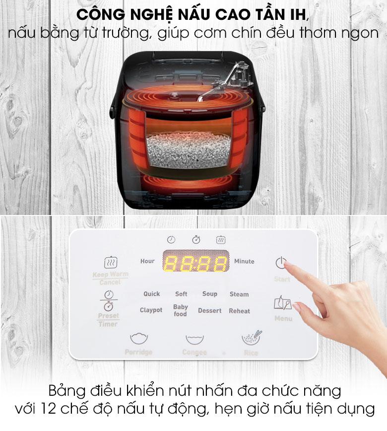 Nồi cơm điện cao tần Tefal RK604165 dung tích 0.7 lít