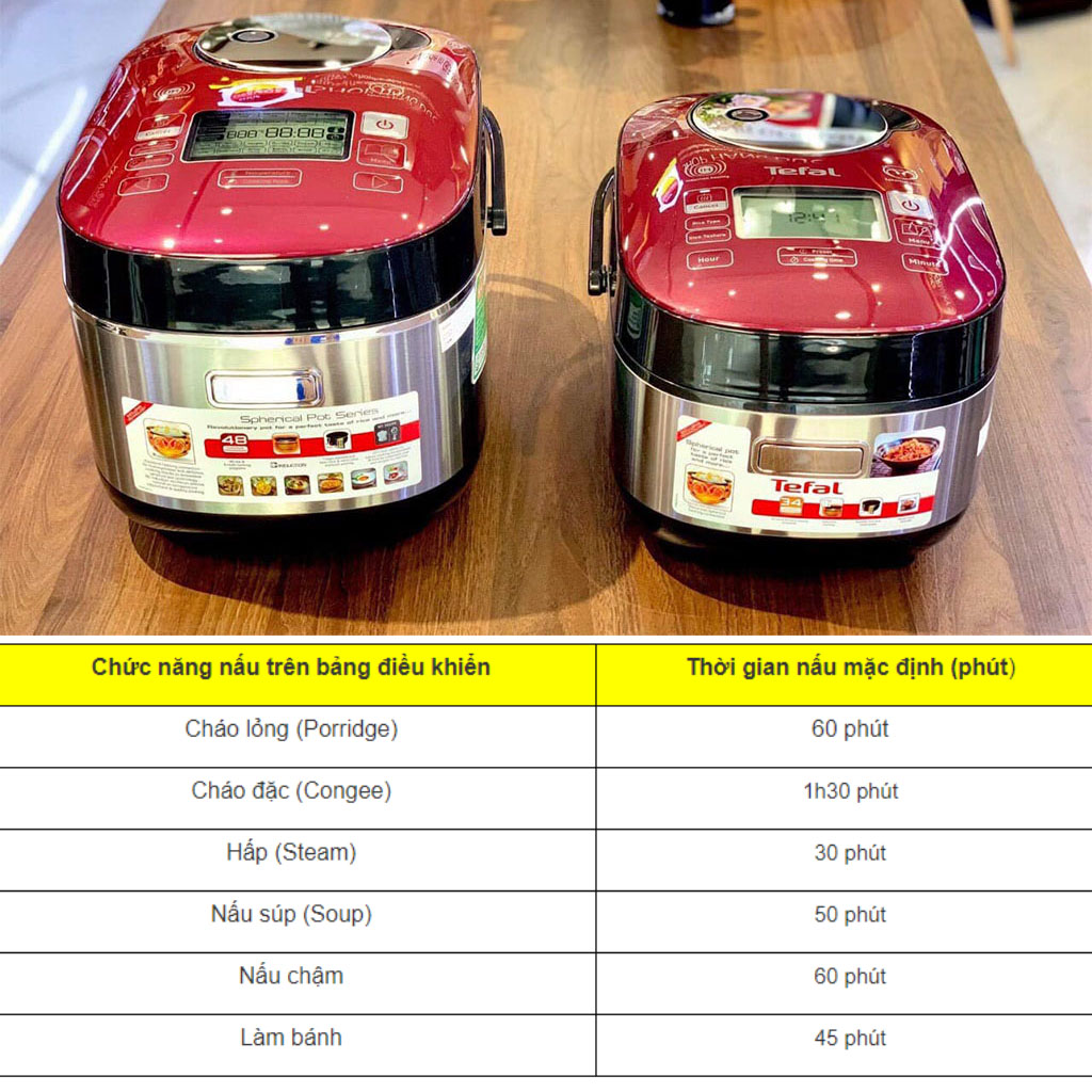 Nồi cơm điện cao tần Tefal RK803565 IH dung tích 1 lít