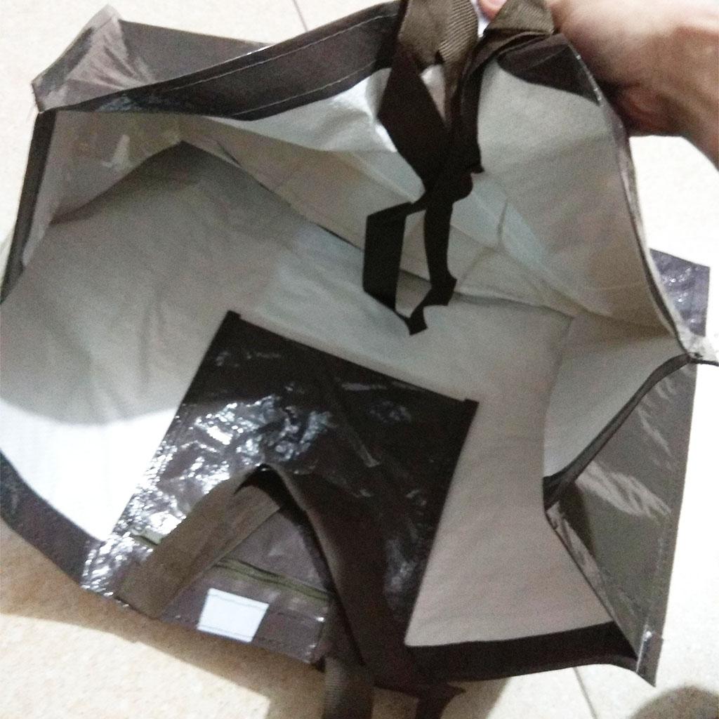 Túi xách đi siêu thị, đi chợ Lopesan thân thiện bảo vệ môi trường 52x20x40cm