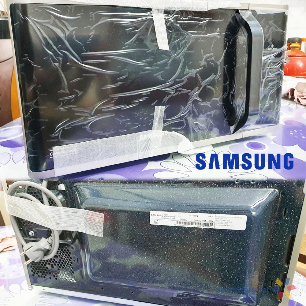 Lò vi sóng tráng men Samsung Hàn Quốc MS23K3513AS 23L