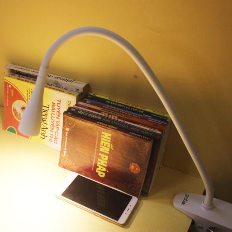 Đèn học kẹp bàn LED siêu sáng tiết kiệm điện Protex PR014 chống cận thị