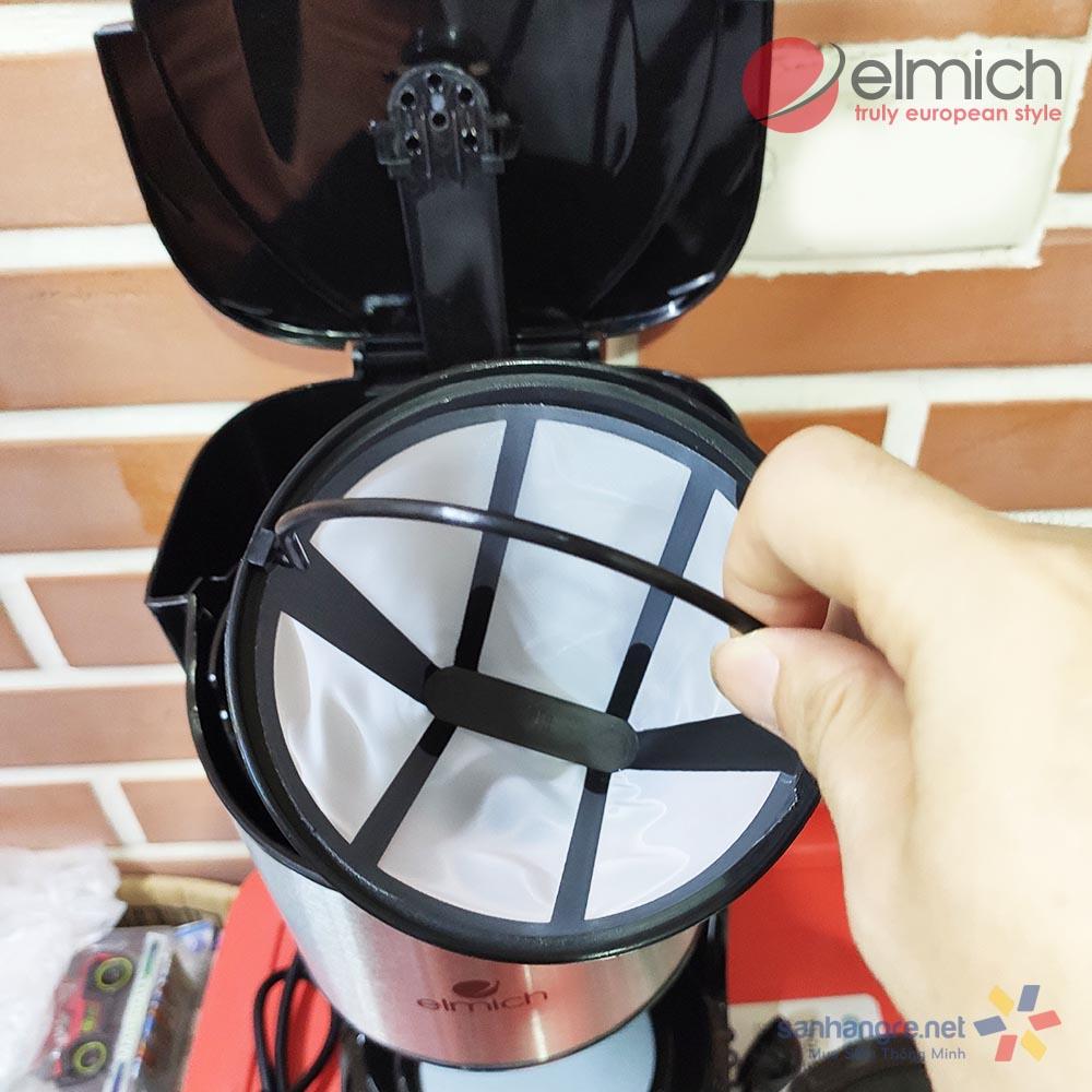 Máy pha cà phê Elmich 4023511 công suất 870W dung tích 1.5 lít