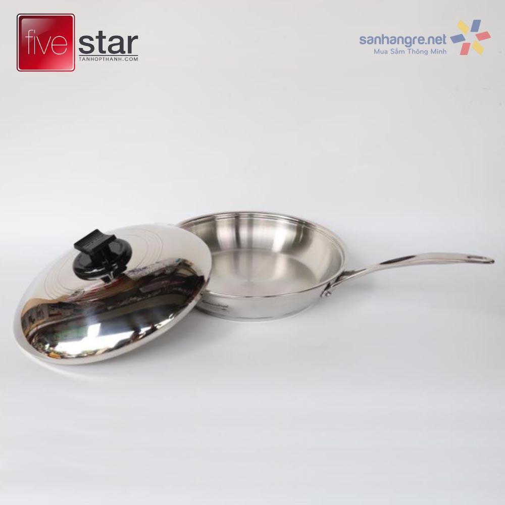 Chảo Inox 304 Fivestar Renaware hàng xuất khẩu Đức 22cm