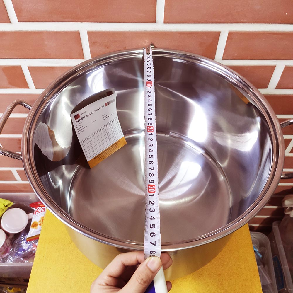 Nồi luộc gà Inox cao cấp 304 Fivestar 36cm dùng bếp từ
