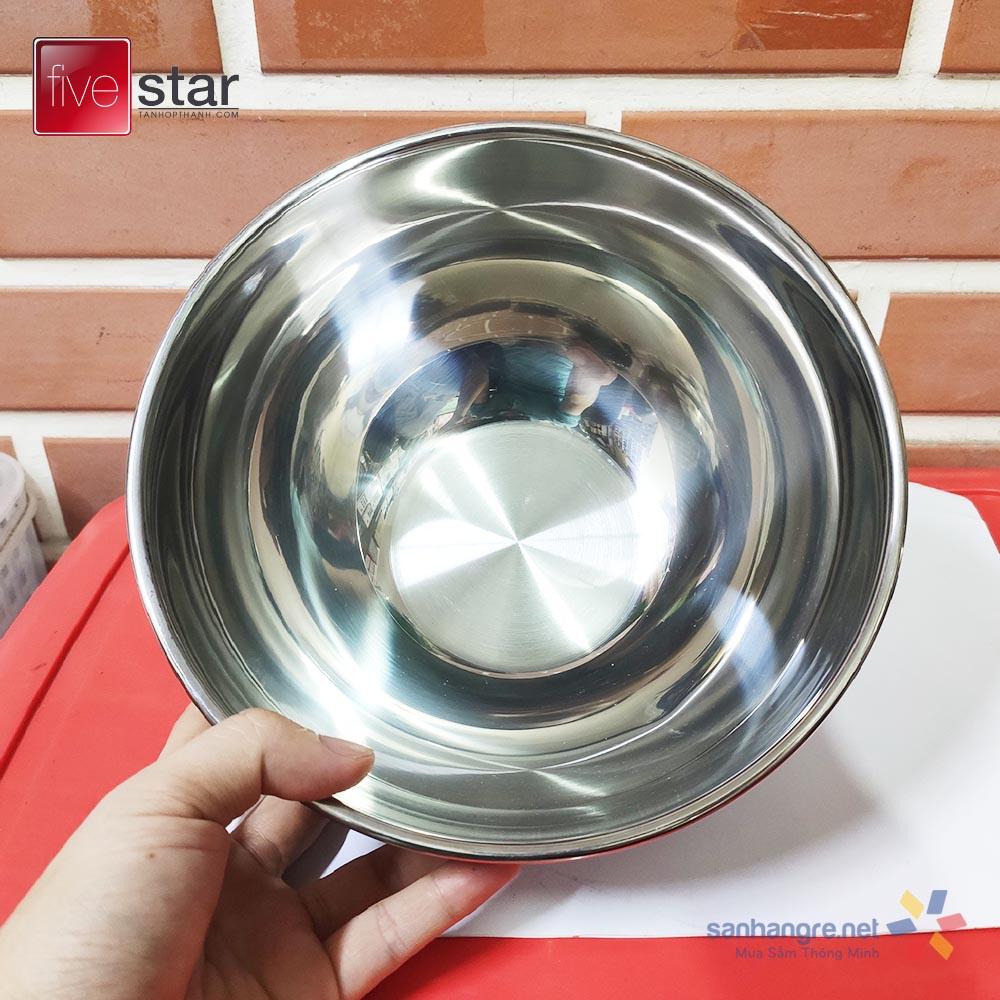 Tô trộn Inox 304 Fivestar Plus 20cm hàng xuất Nhật