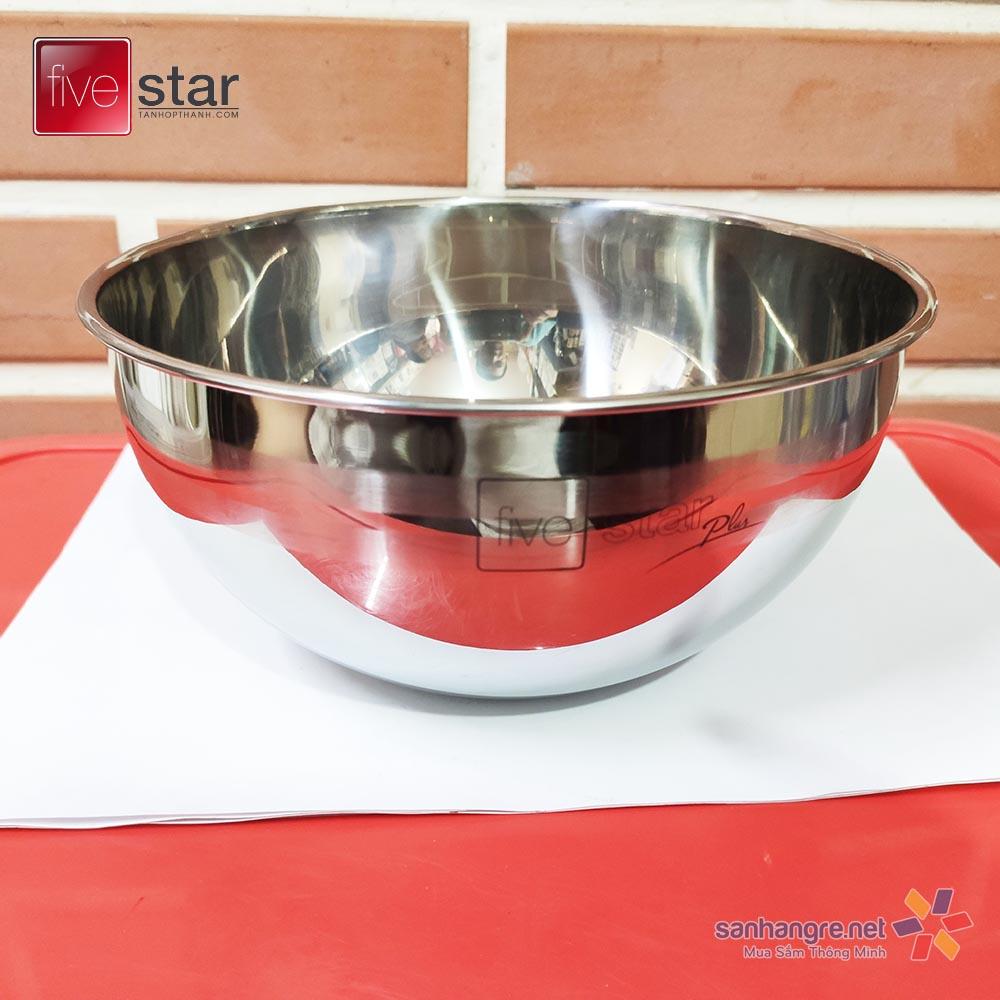 Tô trộn Inox 304 Fivestar Plus 14cm hàng xuất Nhật