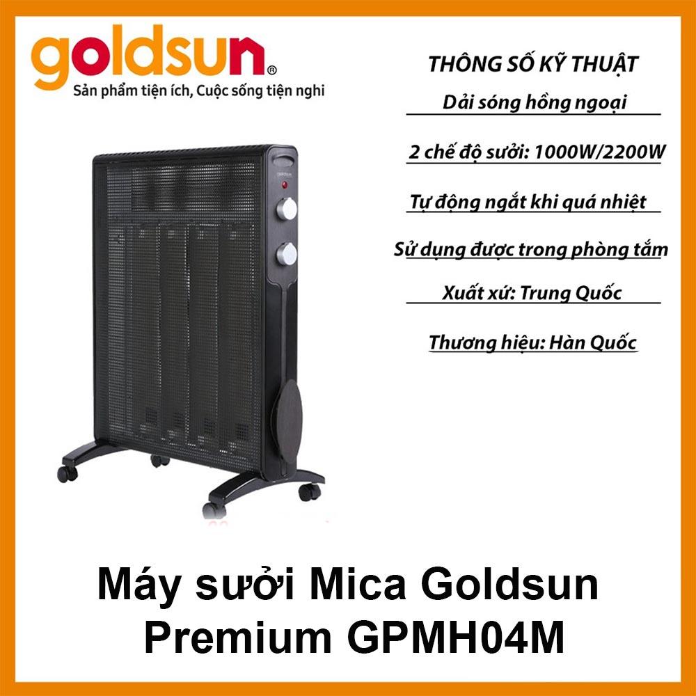Máy sưởi Mica Goldsun Premium GPMH04M 2200W