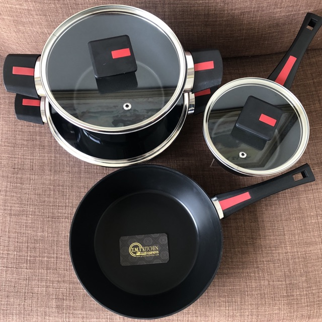 Bộ nồi chảo chống đính 4 món Kim's Cook NEXT STYLE