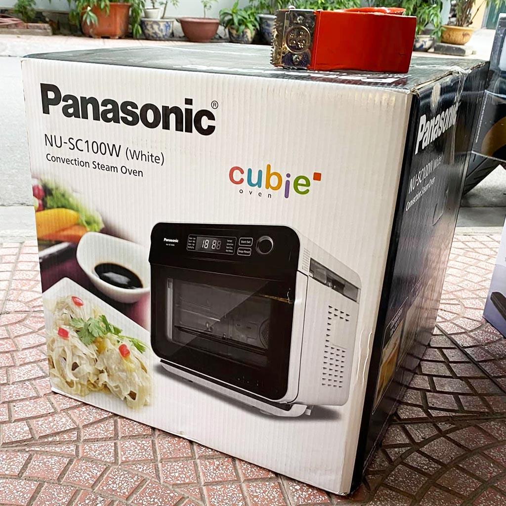 Lò hấp nướng đối lưu Panasonic NU-SC100WYUE dung tích 15L - Hàng chính hãng, bảo hành 12 tháng