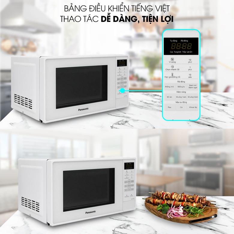 Lò vi sóng Panasonic NN-ST25JWYUE 20 lít