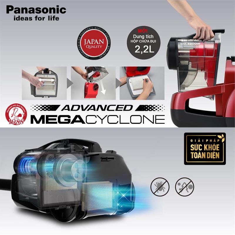 Máy hút bụi không túi Panasonic MC-CL789RN49