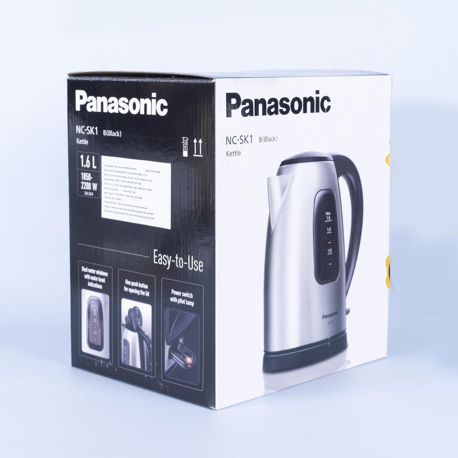 Ấm điện đun nước siêu tốc Panasonic NC-SK1BRA dung tích 1.6 lít