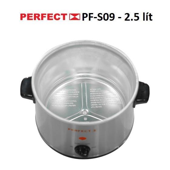 Nồi nấu cháo chậm đa năng Perfect PF-S09 dung tích 2.5 lít