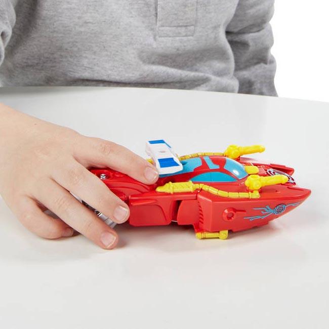 Đồ chơi Robot Transformer Playskool Heroes Rescue Bots Optimus Prime Dinosaur (Box)