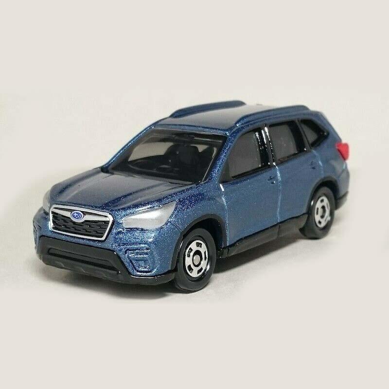 Xe ô tô mô hình Tomica Subaru Forester xanh