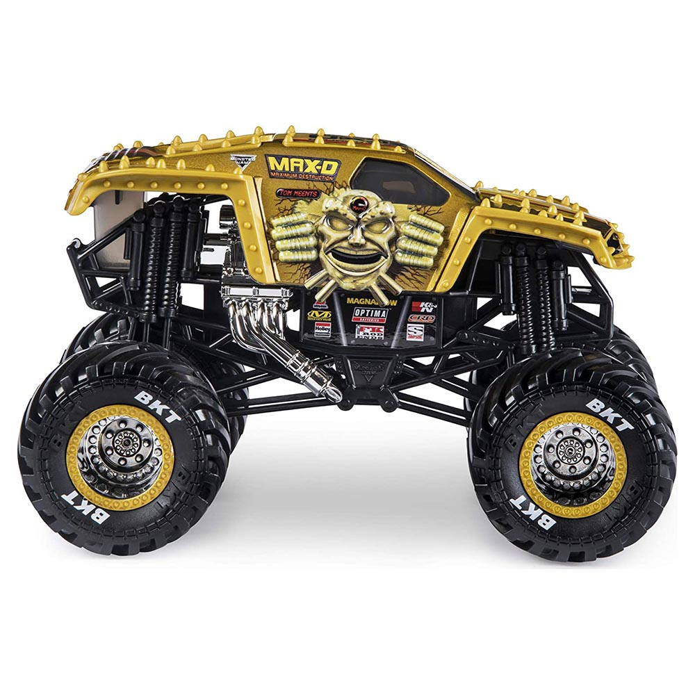 Xe tải mô hỉnh Monster Jam True Metal tỷ lệ 1:24 - Maximum Destruction