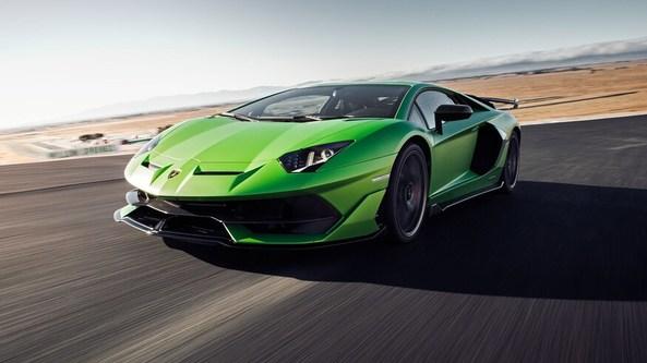Siêu xe ô tô mô hình Tomica Lamborghini Aventador SVJ xanh lá
