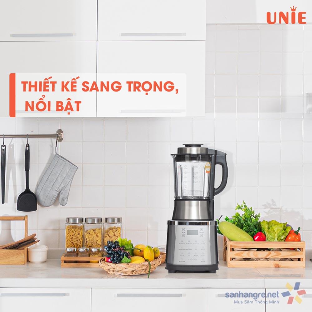 Máy xay nấu làm sữa hạt đa năng Unie V8S 1800W dung tích 1.75L