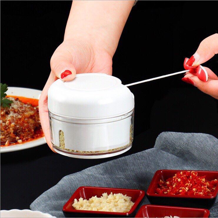 Dụng cụ xay tỏi ớt, rau củ, thịt cá EDOX hàng xuất Nhật