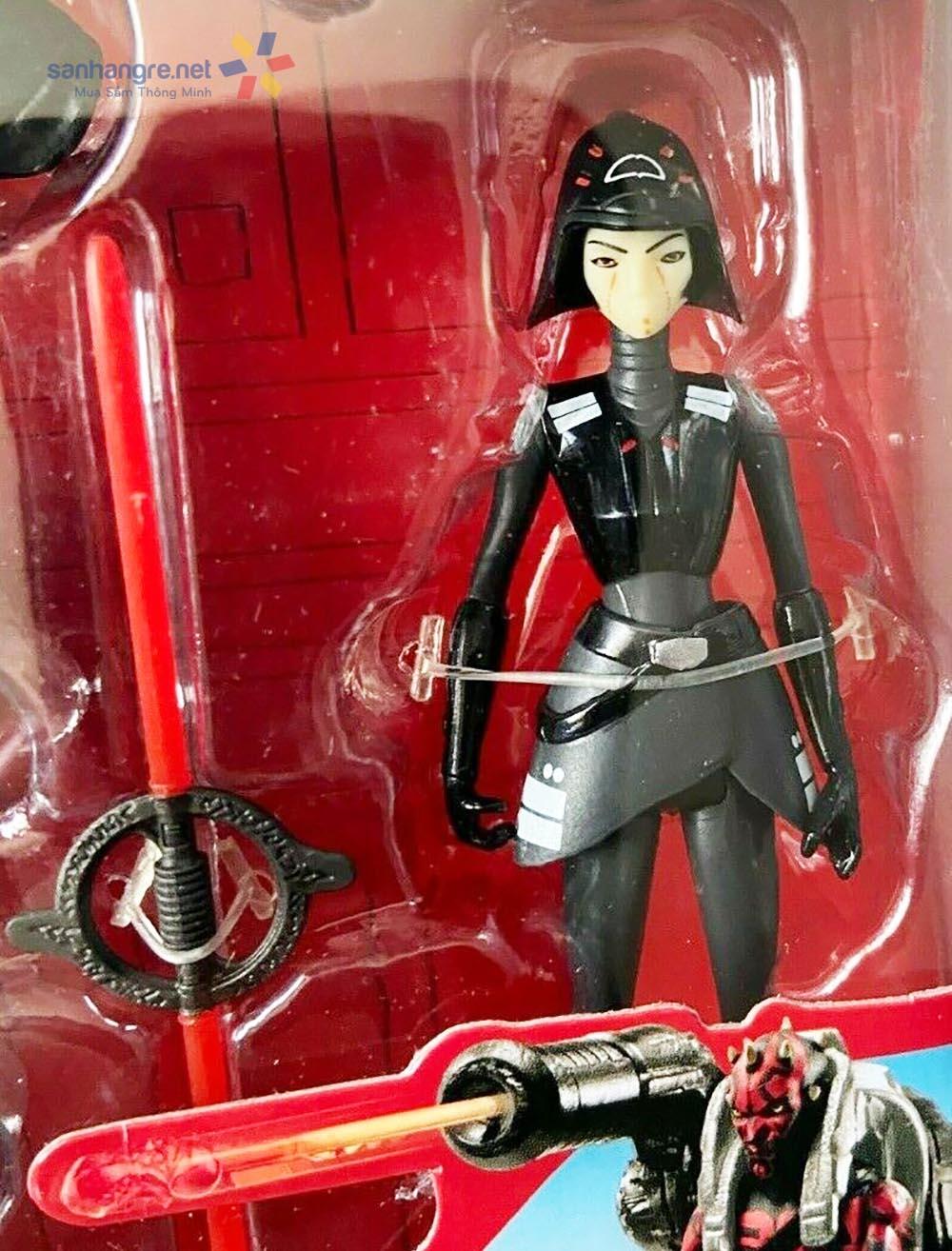 Bộ 2 mô hình Star Wars Rebels Seventh Sister Inquisitor vs Darth Maul