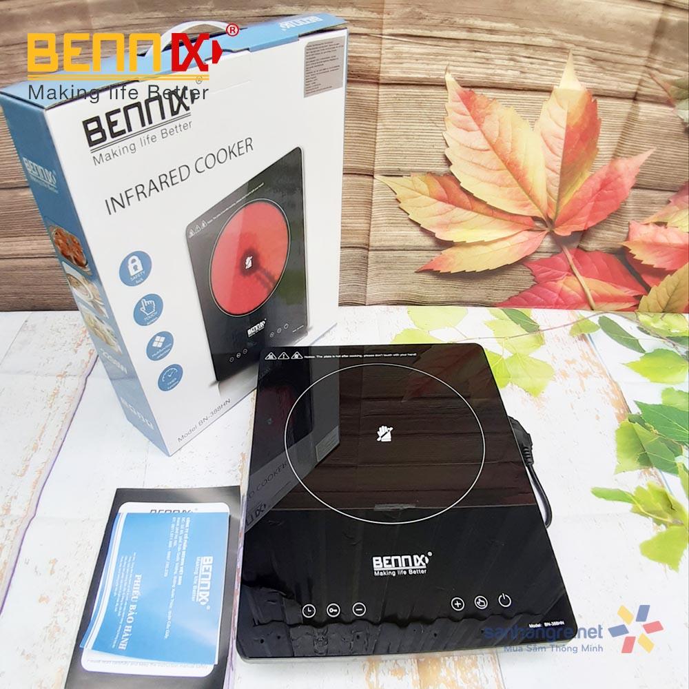 Bếp hồng ngoại điện tử Bennix BN-388HN điều khiển cảm ứng 2200W