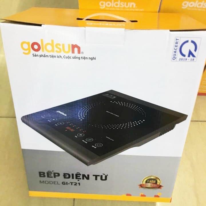 Bếp điện từ đơn cảm ứng Goldsun GI-T21 1400W