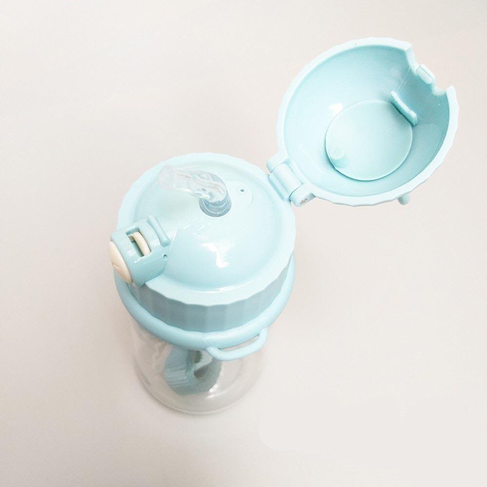 Bình nước trẻ em có ống mút Inochi Goki Rudy 450ml
