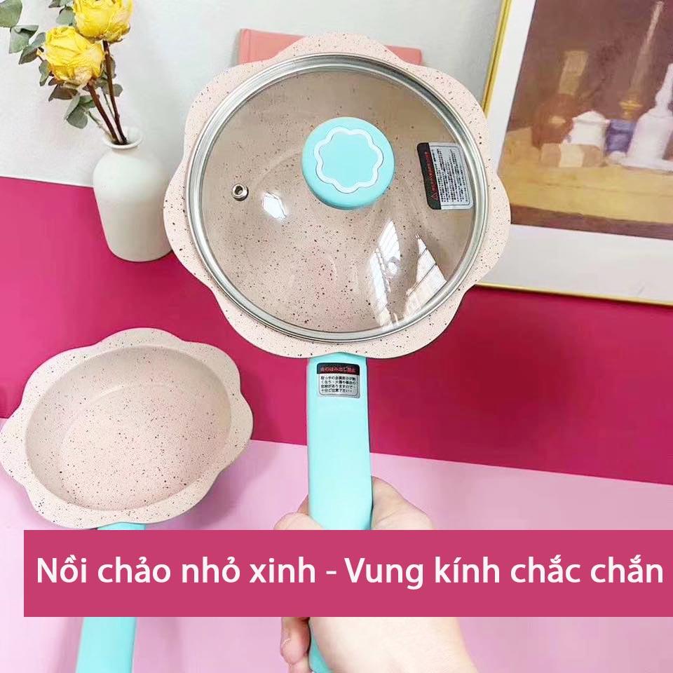 Bộ nồi chảo chống dính Baby Tamasaki Nhật Bản 16cm dùng bếp từ