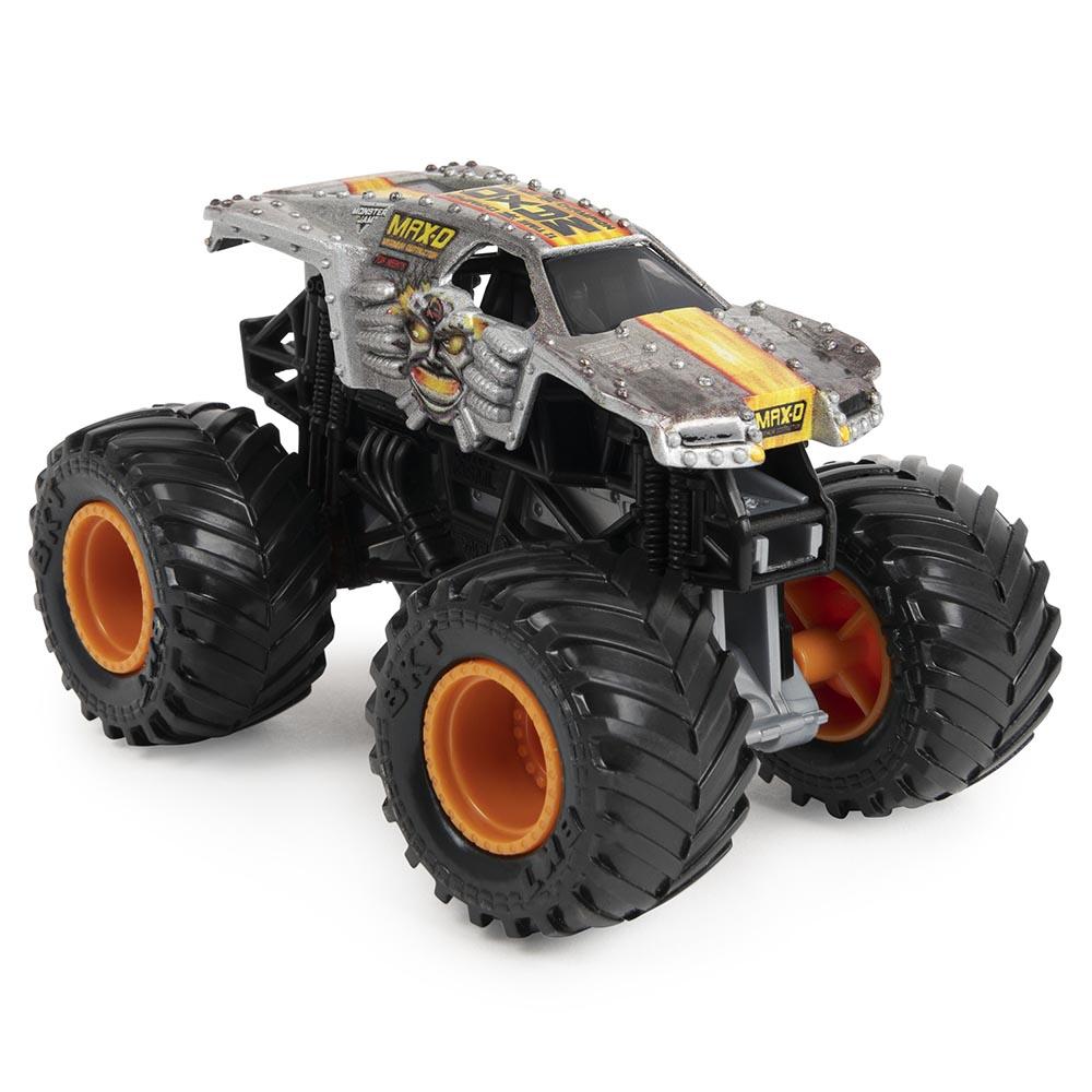 Bộ đường đua vượt chướng ngại vật Monster Jam và xe tải True Metal Max-D