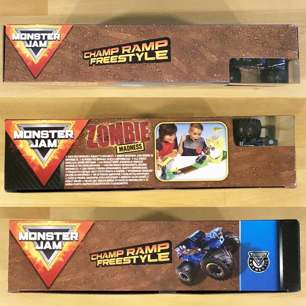 Bộ xe tải mô hình Monster Jam True Metal Son-uva Digga vượt đường dốc