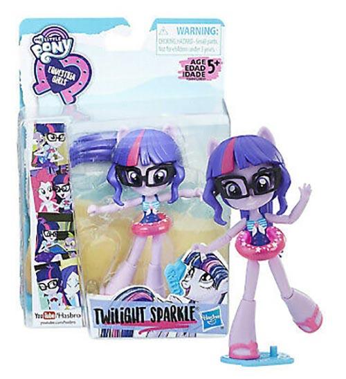 Búp bê My Little Pony cô gái Equestria trên bãi biển Beach Twilight Sparkle