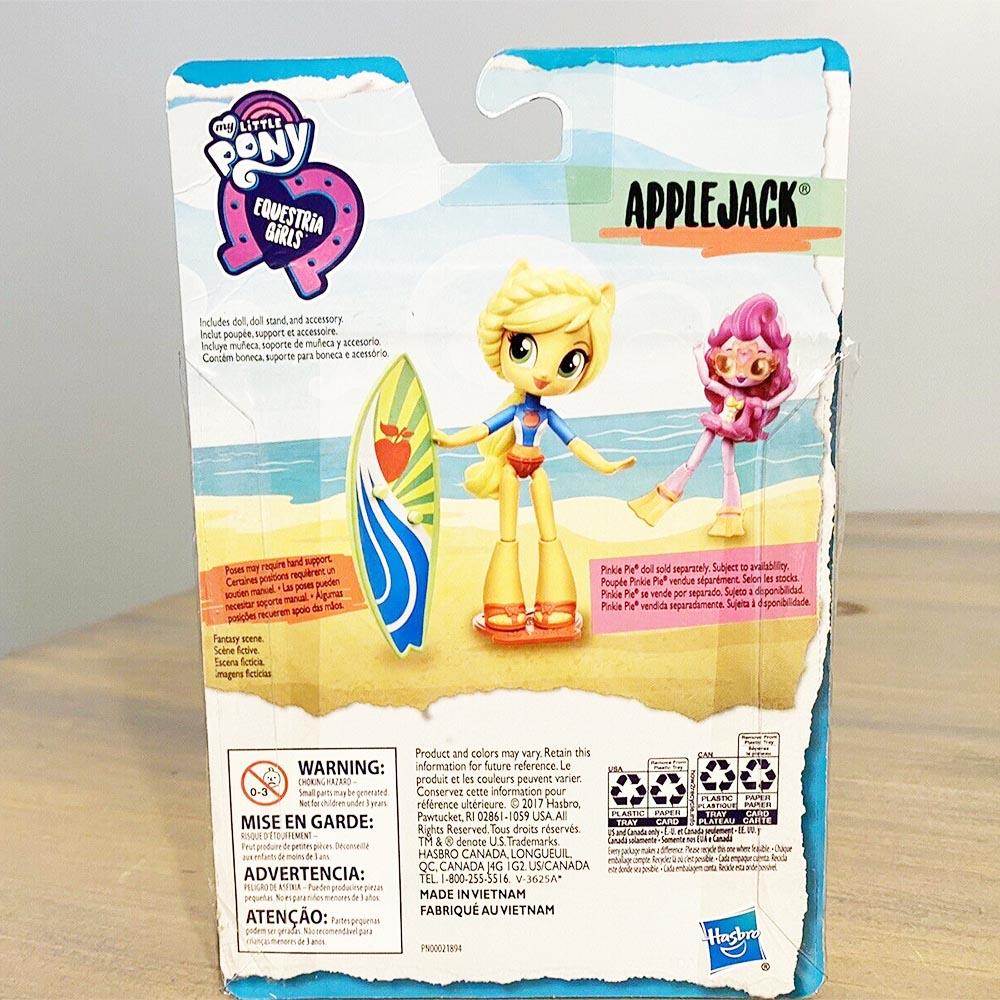 Búp bê My Little Pony cô gái Equestria trên bãi biển Beach - Applejack