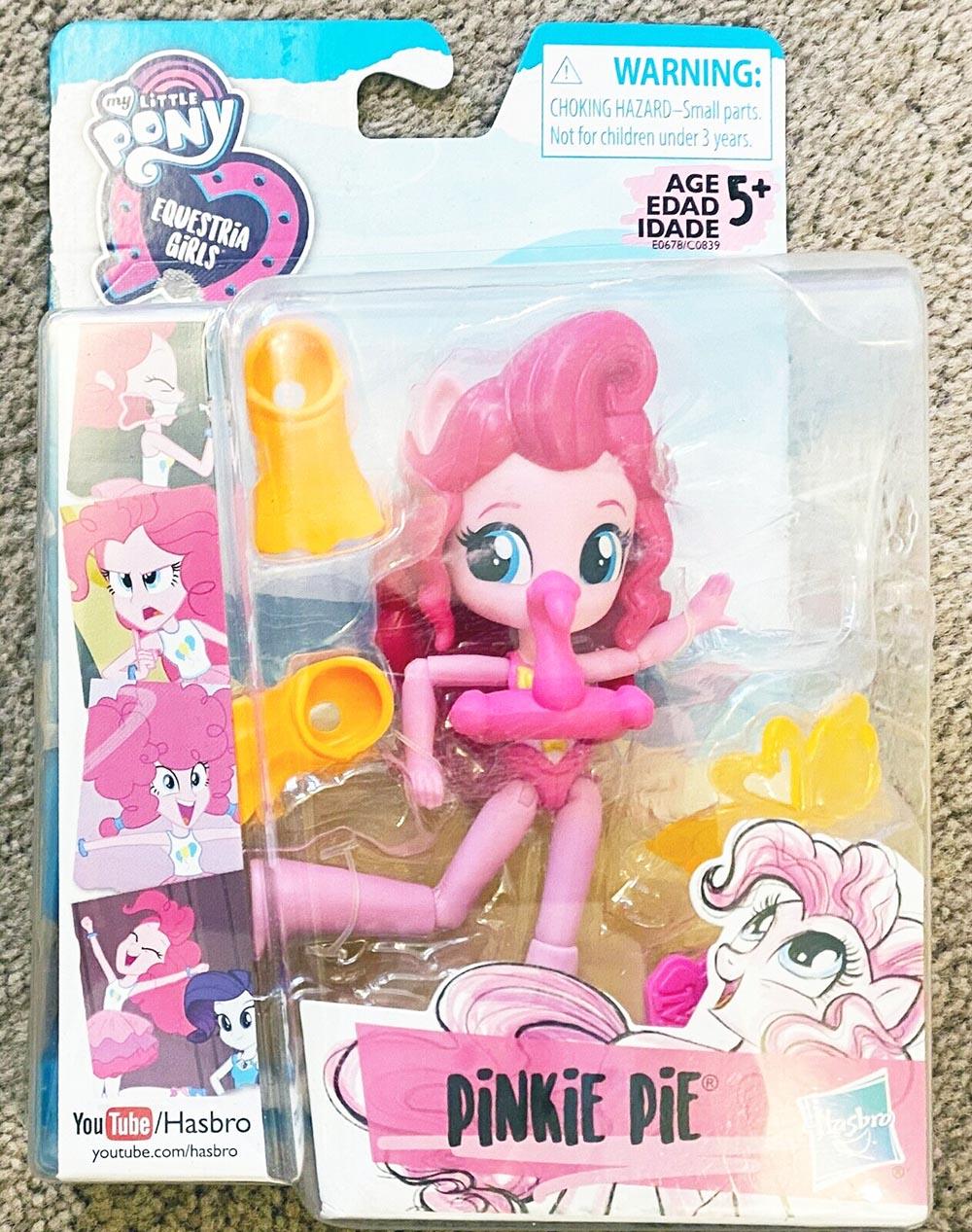 Búp bê My Little Pony cô gái Equestria trên bãi biển Beach - Pinkie Pie
