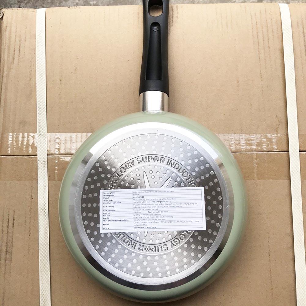 Chảo sâu lòng chống dính 20cm Supor H20212-S520