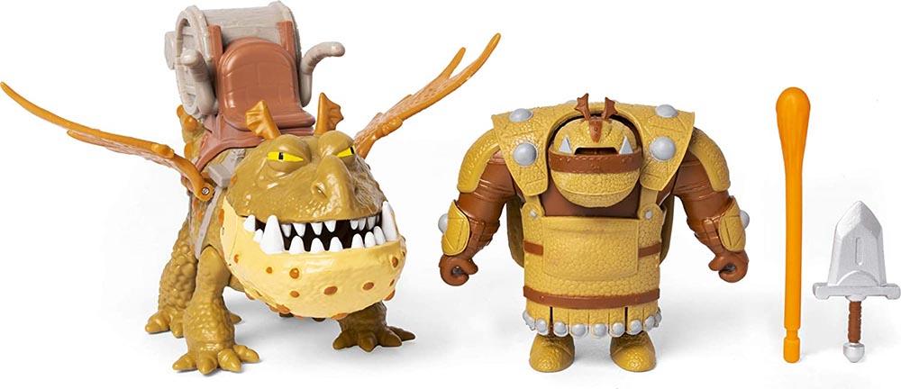 Đồ chơi Mô hình phim Bí quyết luyện rồng Dreamworks Dragon - Fishlegs & Meatlug