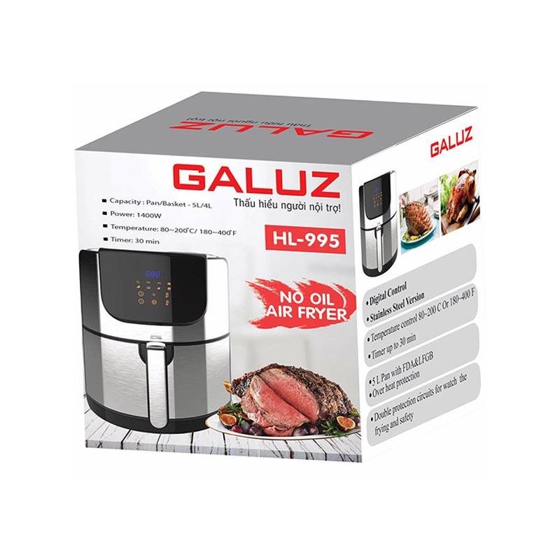Nồi chiên không dầu điện tử Galuz HL-995 5.2 Lít