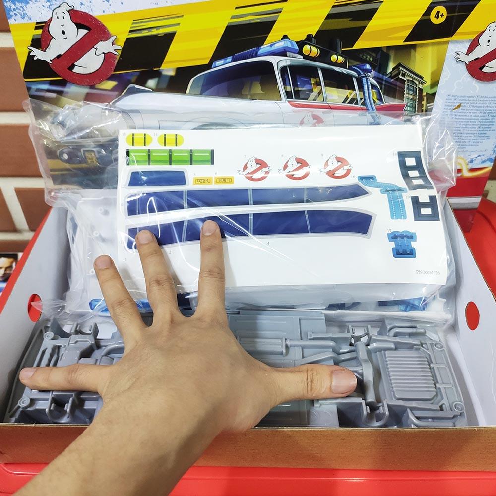 Đồ chơi lắp ráp mô hình xe ô tô bắt ma GM Ghostbusters Ecto-1
