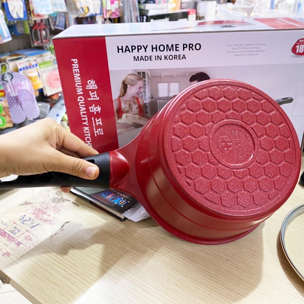 Quánh chống dính Orsay Happy Home Pro tráng sứ size 18cm