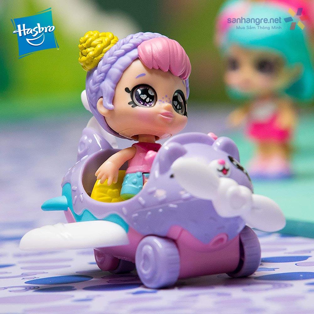Búp bê đồ chơi Kindi Kids Minis Rainbow Kate's Airplane