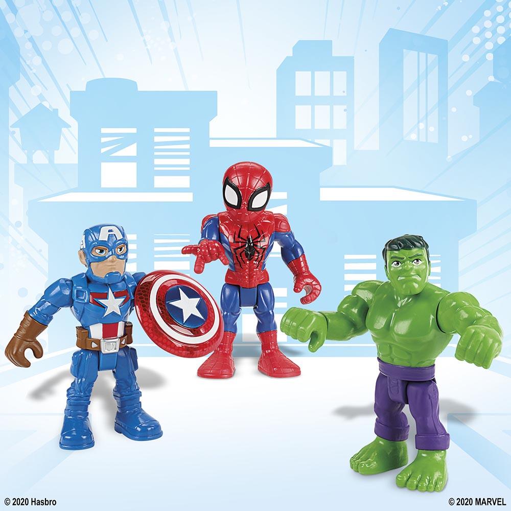 Đồ chơi mô hình Playskool Heroes Marvel Super Hero 12cm - Spider Man