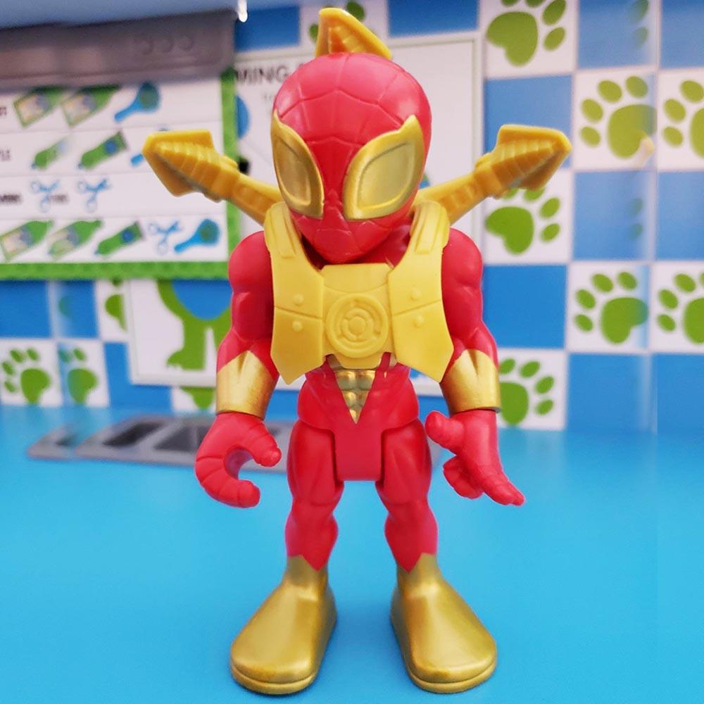 Đồ chơi mô hình Playskool Heroes Marvel Super Hero 12cm -  Iron Spider