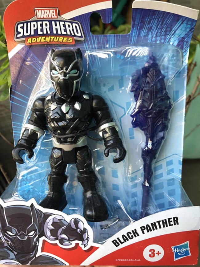 Đồ chơi mô hình Playskool Heroes Marvel Super Hero 12cm - Black Panther