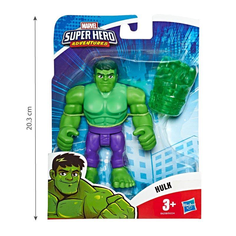 Đồ chơi mô hình Playskool Heroes Marvel Super Hero 12cm - Hulk